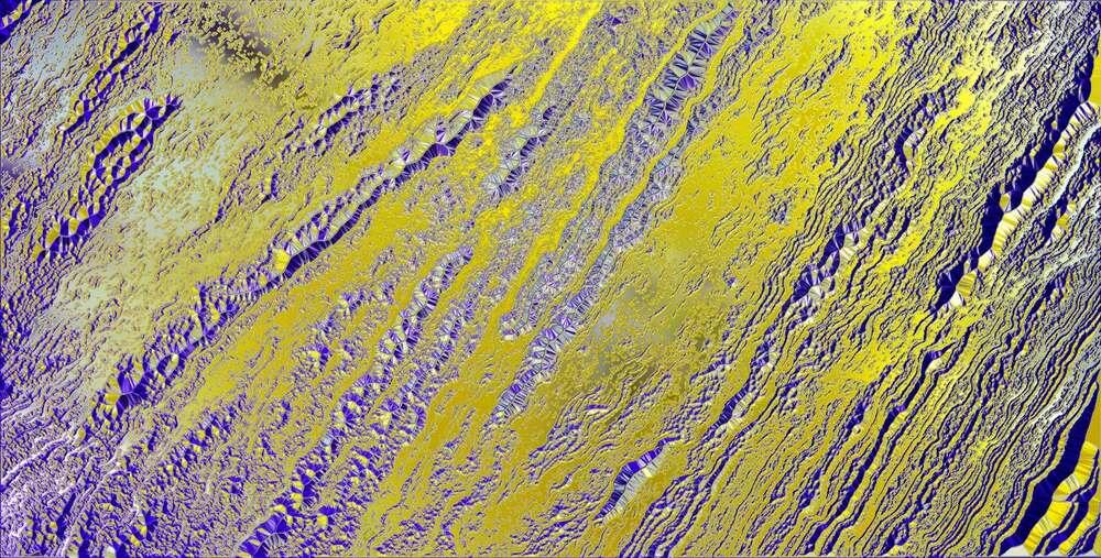 Grandes textures abstrait/Chrome 1