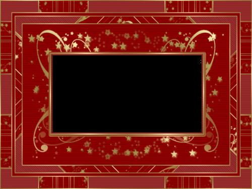 Tube cadre de Noel à personnalisé 2959