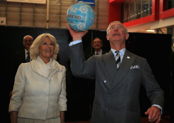 Charles et Camilla au Millenium Institute