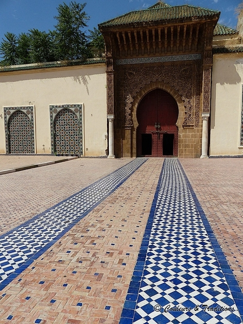 Mausolée de Moulay Ismail - Le Patio