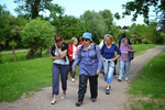 La promenade du 26 mai à Giberville