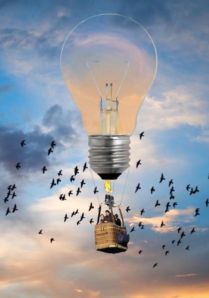 Projet lampe mongolfier