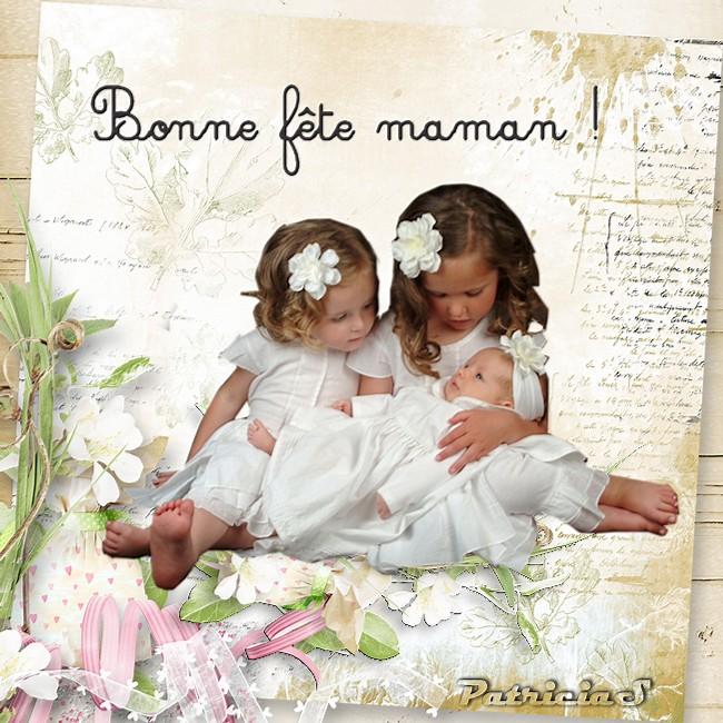 Bonne  fête Maman de France