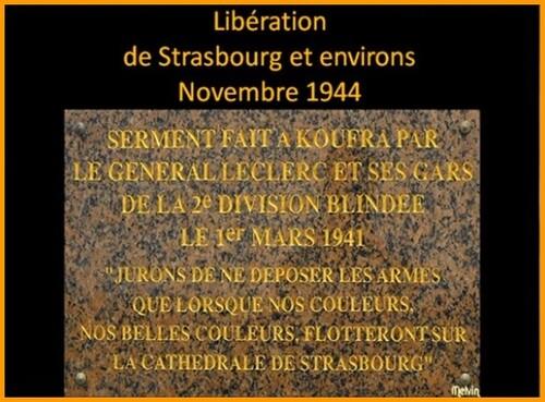 * Libération de Strasbourg et la bataille d'Obenheim 1944 - 1945