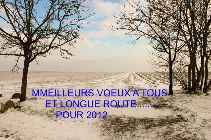 BONNE ANNEE 2012 ET MEILLEURS VOEUX
