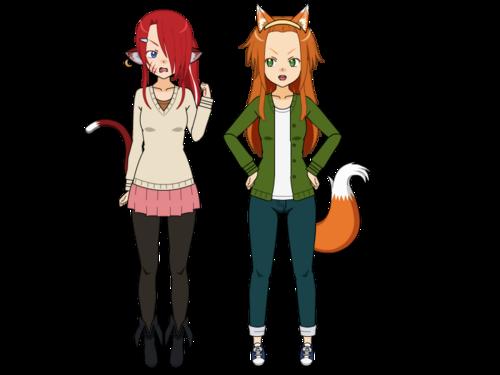 Yuki and Miliana