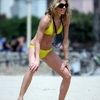 Annalynne McCord à Hermosa Beach.
