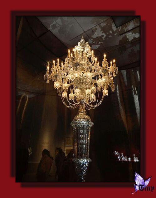 """Baccarat - La légende du cristal"""" suite"""