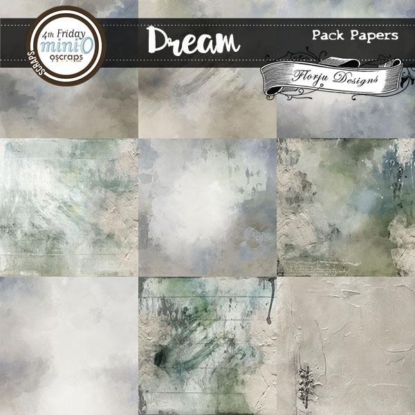 Dream { Papers Pack PU } Florju Designs