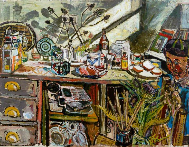 Samedi - John Randall Bratby - Passion Peinture