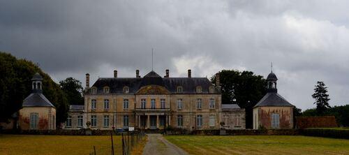 chateau de Courtilloles dans la campagne sarthoise - Bon week end