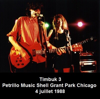 Live: Timbuk3 - Chicago - 4 juillet 1988