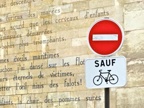 Le Bateau Ivre Darthur Rimbaud Poème Mural Ancré Rue Férou