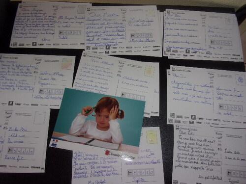 Les CM2a participent à la semaine de l'écriture