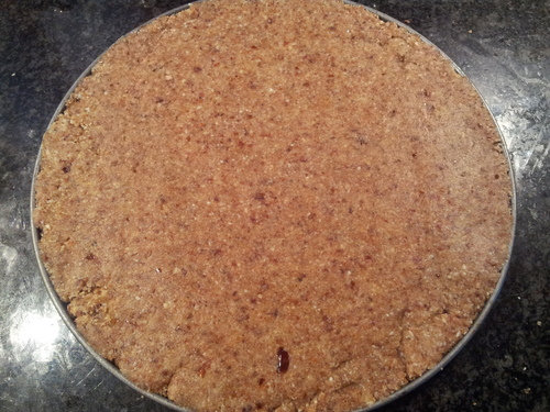 ° Cheesecake surprenant aux fraises - VEGAN - CRU - IG bas
