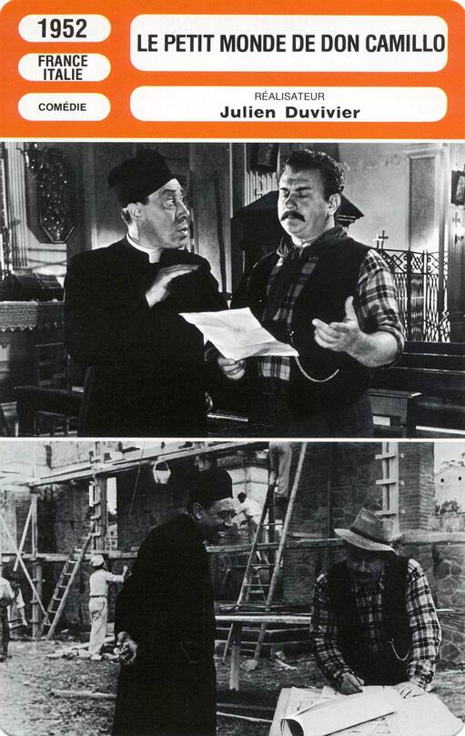 LE PETIT MONDE DE DON CAMILLO - FICHE MONSIEUR CINEMA