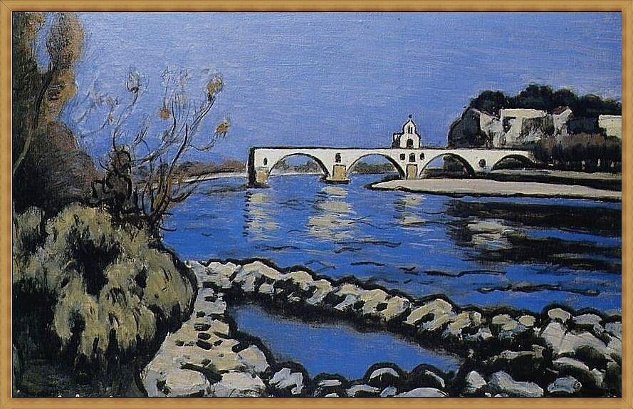 Tous sur le pont couleurs provence for Auguste chabaud cote