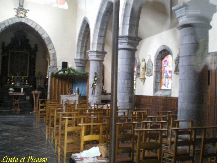 Belgique, église de Leugnies