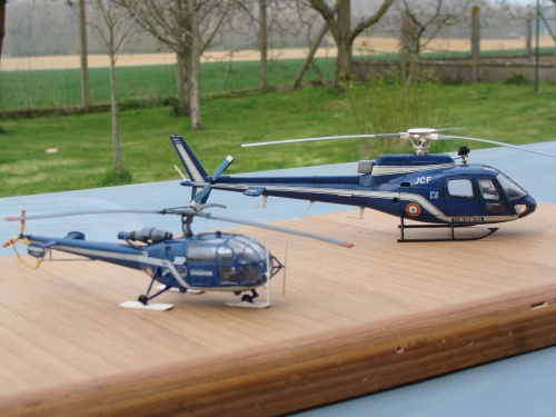 Alouette III Gendarmerie et Ecureuil