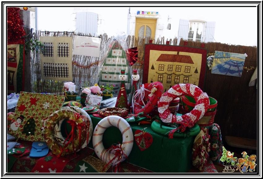 Après l'entraînement de dimanche dernier ,une visite au marché de Noël de St Georges d'Oléron