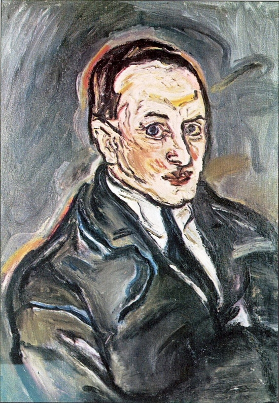 Oskar Kokoschka, Portrait d'homme