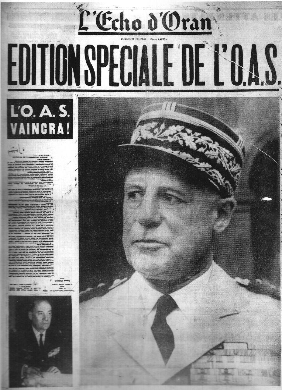 Compatriotes de Nice, de France et de Navarre l'OAS vous parle