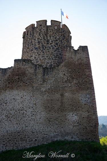 Kaysersberg 68 : 4/6 Le château impérial
