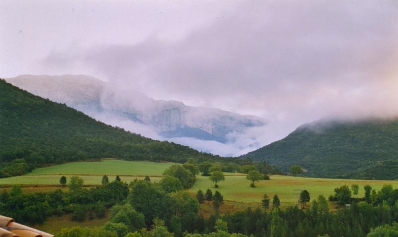 Drôme, brouillard