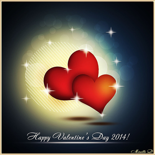 Coeurs pour la Saint- Valentin