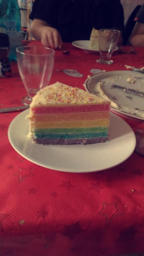 APRÈS LE RAINBOW WARRIOR, LE RAIINBOW CAKE