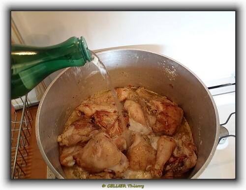 Le poulet aux ecrevisses façon Titi !