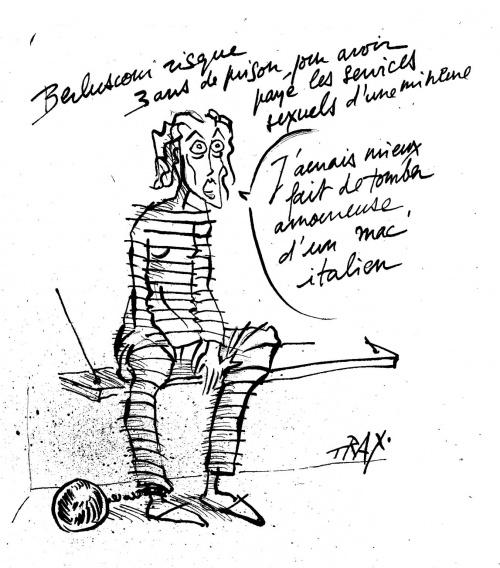 Florence Cassez, berlusconi