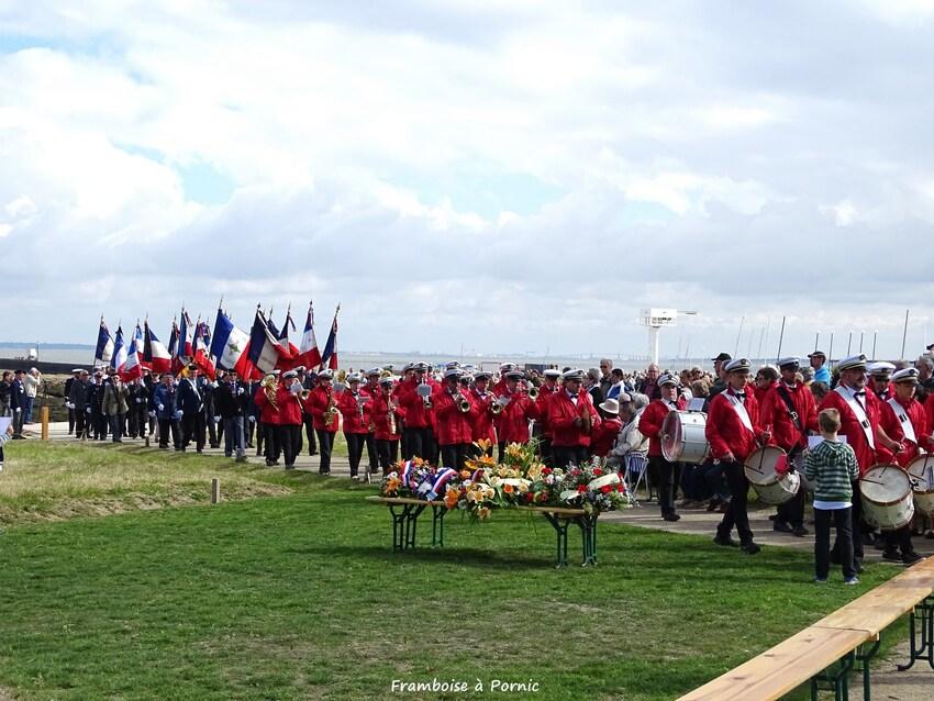 Inauguration Mémorial LANCASTRIA - 18 juin 2016- Harmonie St Père en Retz