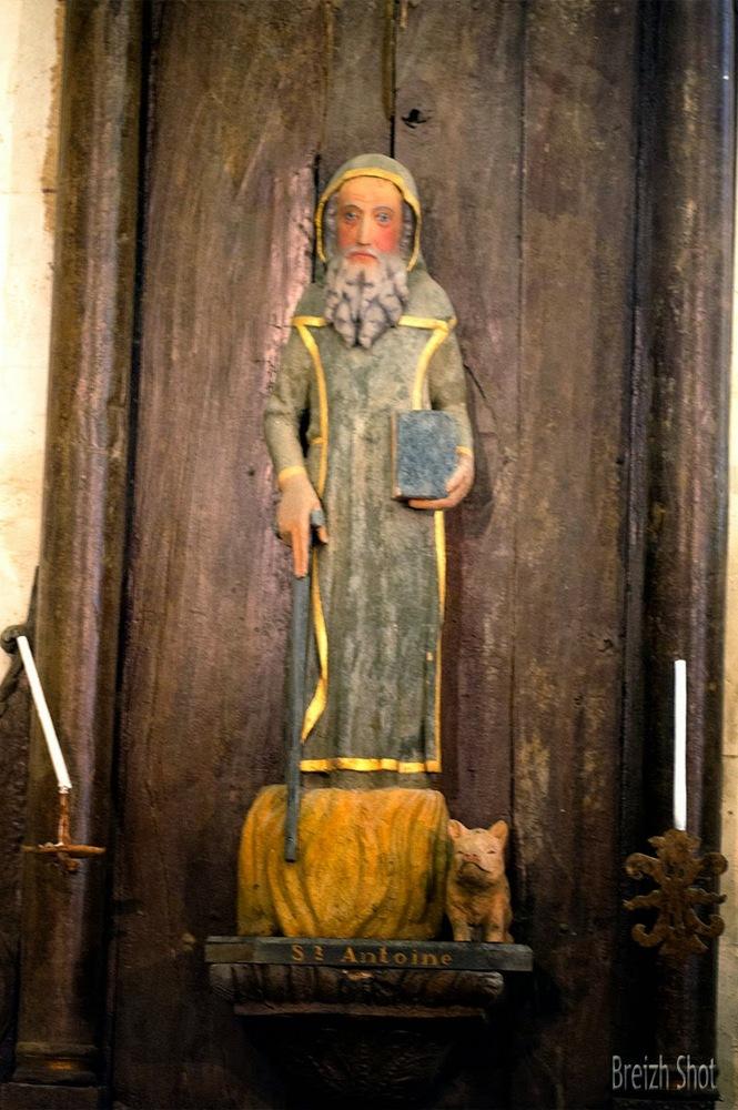 Saint Antoine d'Égypte, Chapelle de Saint-Éloi, Guilligomarc'h
