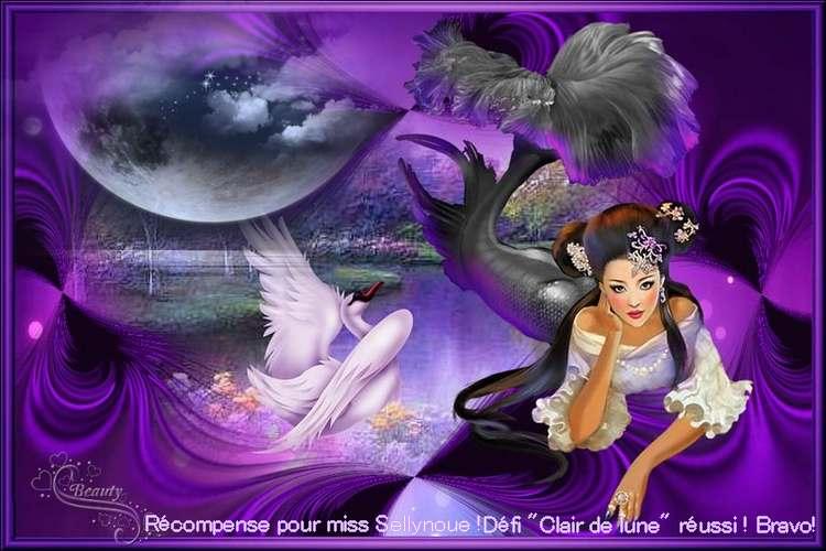 """Vos récompenses mes zamours pour le défi""""Clair de lune"""" ICI**"""