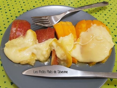 Raclette aux fruits