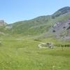 station de ski avec le pic Mourgat à gauche