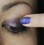 Make-Up: Smoky Violet