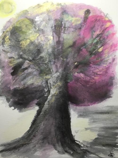 L'arbre content