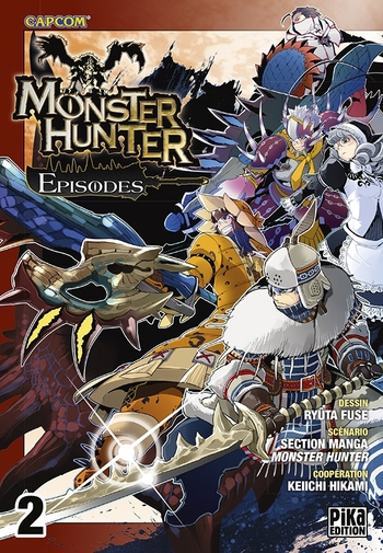 Monster hunter episodes - Tome 02 - Ryûta Fuse & Keiichi Hikami