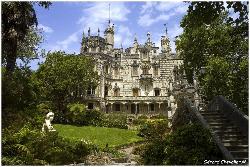 portugal,sintra,palacio,palace,da regaleira,château,jardin,