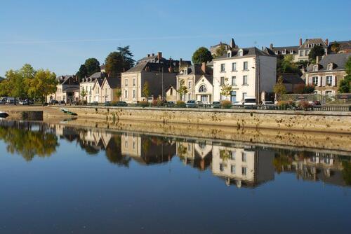 La Mayenne un vrai miroir.