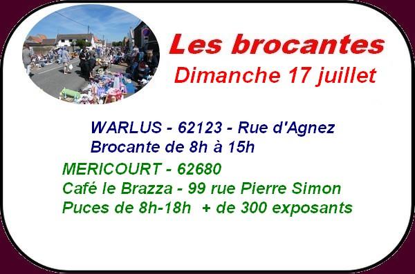 Brocantes, fêtes et ducasses et randonnées à ARRAS et ses environs ce week-end.