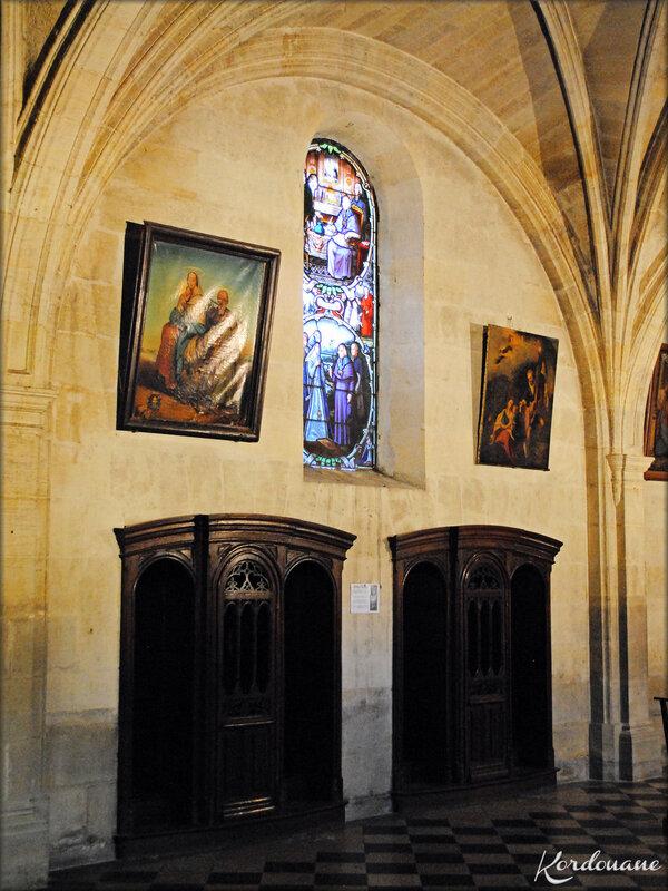 Photo des plafonds de la Basilique (Notre Dame de Verdelais)