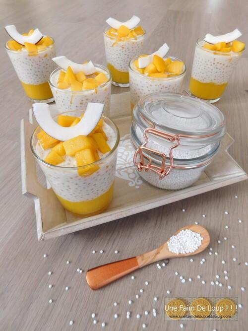 Perles du Japon vanille tonka & mangue