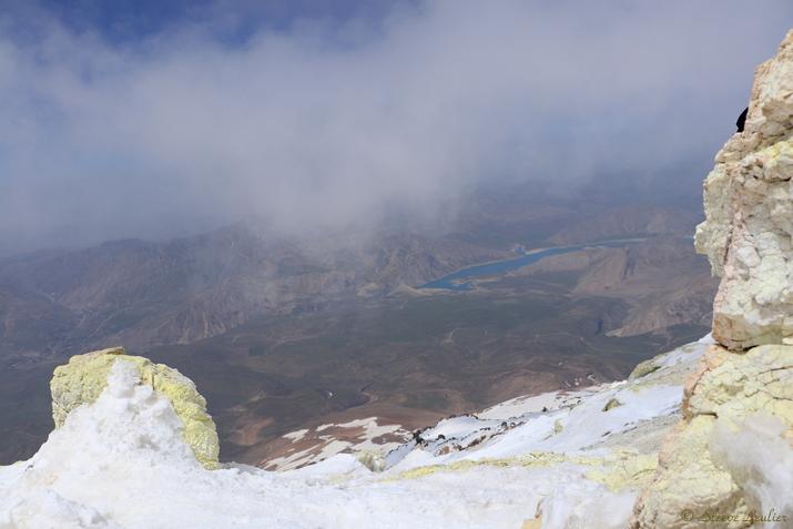 Ascension finale du Damavand 5671m
