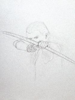 Archer, dessin