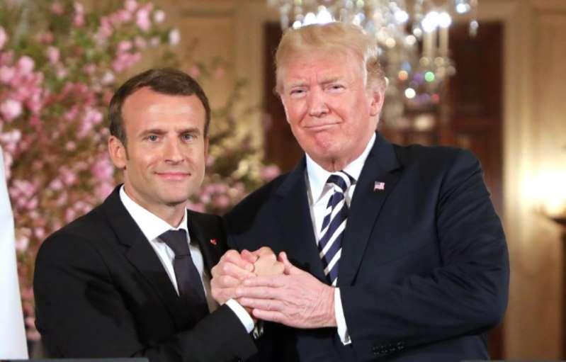 11-Novembre: Emmanuel Macron recevra Donald Trump à l'Elysée samedi