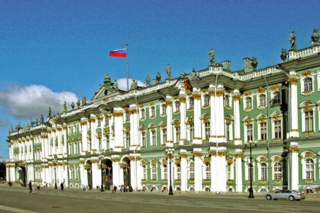 L'Ermitage à St-Petersbourg