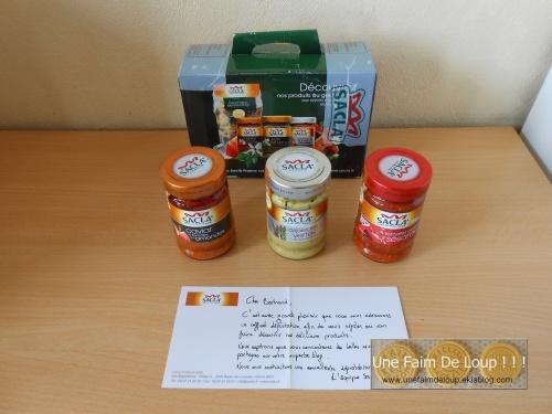 Mon 14 ème partenariat gourmand : Sacla